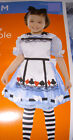 Alice in Wonderland Dress Costume Dress-up Child NWT 2-3 3-4