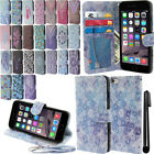 For Apple iPhone 6 4.7 inch Flip Wallet LEATHER POUCH Case Phone Cover + Pen