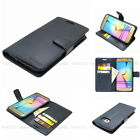 Diary Kickstand Slim Flip Leather Wallet Case Cover w/Jelly For iPhone Galaxy LG