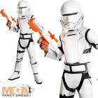 Deluxe Flametrooper Boys Fancy Dress Star Wars The Force Awakens Childs Costume