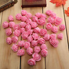 50pcs PE Foam Roses Artificial Flower Wedding Bride Bouquet Party Decor DIY BD