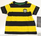 Tommy Hilfiger Boys Navy & Yellow Stripe Crew Neck T-Shirt 3-6M