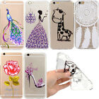 Ultra Thin Hot Pattern Transparent Soft TPU Gel Case Cover For iPhone Samsung