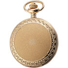 2 Colours Roman Numerals Mother of pearl Dial Chain Pocket Quartz Watch Gift