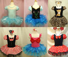 Girls Lovely Princess  Ballet Tutu Dancewear Party Dress 2-8Y Kids Leotard Skirt
