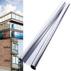One Way Window Film Privacy Vision Mirror Reflective Glass Mirrored Silver 152cm