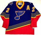 AL MACINNIS ST LOUIS BLUES CCM VINTAGE JERSEY NEW WITH TAGS