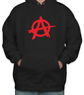 Punk  Mens Hoody, Anarchy,Socialist, anti-capitalist, agit-pop