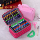 Portable Canvas Pencils Pen Brush Case Pouch Pocket Bag For 72Pcs holder case TY