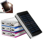 30000mAh Dual USB Portable Solar Battery Charger Power Bank For Cell Phone New