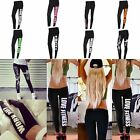 1x Femme Leggings Jambière Sport Yoga Gym Aptitude Pantalon Collant Moulant Jean
