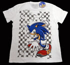 NWT MENS Sega SONIC The HEDGEHOG old school T-SHIRT in package Sz- X-Sm or Small
