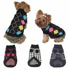 New Pet Dog Puppy Cat Warm Sweater Clothes Knit Coat Winter Apparel Costumes