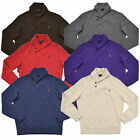 Polo Ralph Lauren Mens Sweater Shawl Neck Collar Pullover French Rib Pony New