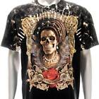 b150 Sz M Survivor T-shirt Tattoo STUD Skull Geisha Japanese Ghost Girl Lady Men