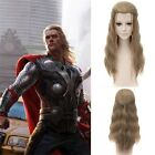 The Avengers Anime Long Wavy Curly Wig Non Bangs Cosplay Full Hair Wig Synthetic