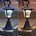 SOLAR POWERED OUTDOOR GARDEN DRIVEWAY SECURITY FLOODLIGHT LED LANTERN LAMP LIGHT