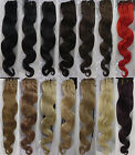 "Womens 18""~22"" Remy Body Wavy Weft Human Hair Extensions Wave 100g Width 59"""