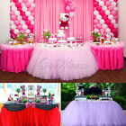 2 Pack Ourwarm TUTU Table Skirts Birthday Party Wedding Tableware Decor 80*100cm