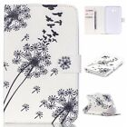 Fashion New Dandelion Magnetic Flip PU Leather Card Stand Case Cover For Tablets
