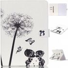 Cute Kids Dandelion Magnetic Flip PU Leather Card Stand Case Cover For Tablets