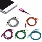 1M Braided Micro USB Data Sync Charger Cord Cable For Samsung Galaxy S3 S4 New