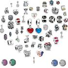 New Space Silver charms Bead Fit European 925 Sterling Silver Bracelet Chain CA5