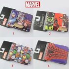 Super Hero Spiderman Hulk PU Synthetic Leather Short Purse Wallet