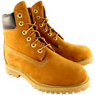 "Womens Timberland Classic 6"" Premium Tan Waterproof Lace Up Ankle Boots UK 3-8"