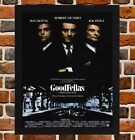 Framed Goodfellas Movie Poster A4 / A3 Size Mounted In Black / White Frame