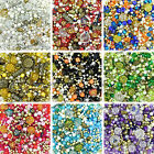 400 x Jewellery Making Mixed Colour Beads - Assorted Colours