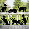 "*NEW* Lawn Art Yard Shadow ""Feline Friends"" Single Cat Silhouette - You Pick!"