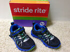 NEW STRIDE RITE BOYS PROPEL Blk/Blue Velcro Athletic SHOES Pick Sz Free US Ship