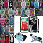 For LG Optimus L90 D405 D415 KICKSTAND HYBRID Silicone HARD Case Cover + Pen