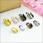 End Cap Crimp Bead For Leather Cord 2.5mm/3.5mm/4.5mm Silver,Gold,Bronze R5032