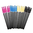 25/50 PCS Disposable Eyelash Mascara Makeup Wand Brush Applicator Tool
