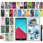 For LG G4 H815 F500 VS986 H810 NEW TPU SILICONE Rubber Soft Case Cover + Pen