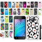 For Samsung Galaxy J1 J100 NEW TPU SILICONE Rubber SKIN Soft Case Cover + Pen