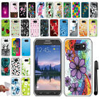 For Samsung Galaxy S6 Active G890 TPU SILICONE Soft Protective Case Cover + Pen