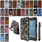 For Samsung Galaxy Grand Prime G530 ShockProof HYBRID HARD Case Cover + Pen