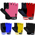Leather Weight Lifting Gloves Gym Training Exercise Body Building Gloves