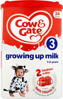 Cow & Gate Baby Milk Powder Formula from Birth Onwards 1 2 3 4  FROM  UK