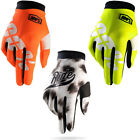 KIDS YOUTH 100% iTRACK MOTOCROSS GLOVES RACING MTB BMX 100 PERCENT NEW BIKE