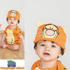 DISNEY TIGGER JERSEY BODYSUIT + HAT 3-24 mths baby toddler fancy dress costume
