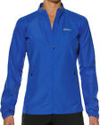Asics Essentials Woven Ladies Running Jacket - Blue