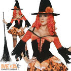Deluxe Tainted Garden Witch Ladies Sexy Halloween Fancy Dress Costume UK 8-14