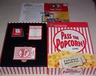 Pass The Popcorn Movie Trivia Family Board Game With Bonus Actor Card Games