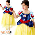 Disney Premium Snow White Girls Fancy Dress Princess Kids Childs Deluxe Costume