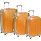 Beverly Hills Country Club Newport 3 Piece Hardside Luggage Set NEW