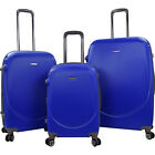 Travelers Club Luggage Barnet 2.0 3PC Round Shell Luggage Set NEW